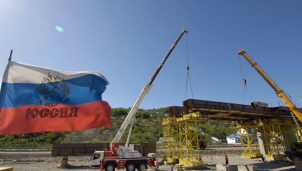 Строительство олимпийских объектов в Сочи. Архив
