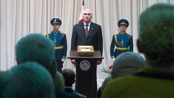 Инаугурация нового президента Южной Осетии