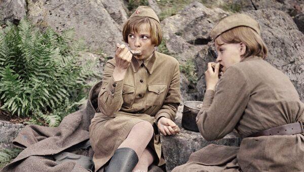 Кадр из кинофильма С.Ростоцкого А зори здесь тихие.... Архивное фото