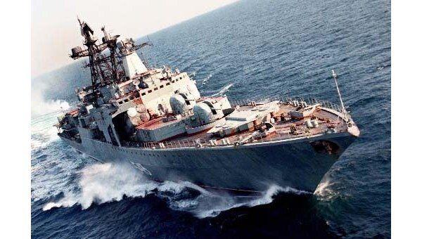 Противолодочный корабль (БПК) Тихоокеанского флота Маршал Шапошников