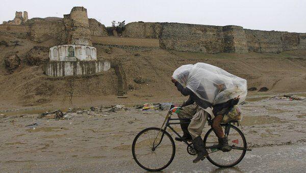 Проливные дожди подтопили Кабул