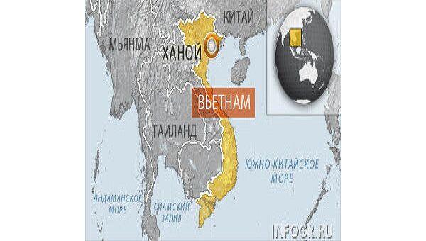 Вьетнам. Карта