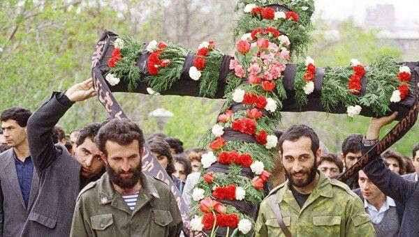 День памяти жертв геноцида армян. Архив