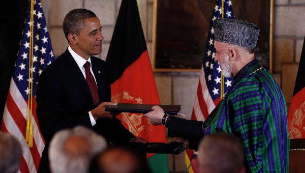 Президенты США и Афганистана подписали в Кабуле соглашение о стратегическом партнерстве