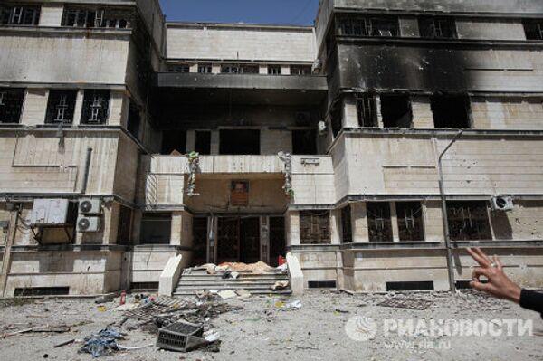 Разрушенная больница