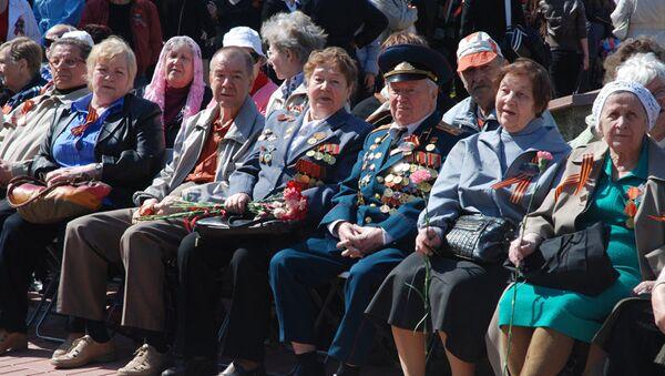 Час славы: москвичи отдали дань уважения ветеранам