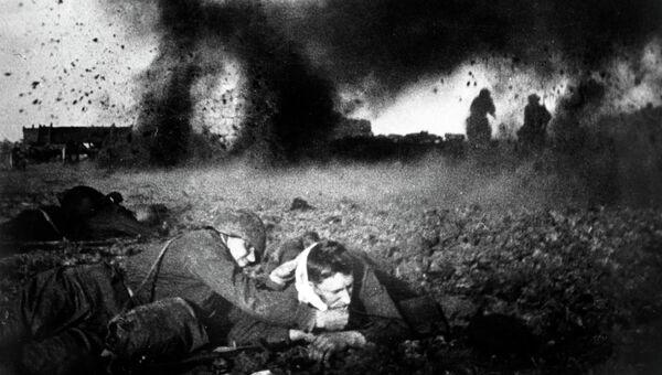 Великая Отечественная война. Октябрь 1941 года. Архивное фото