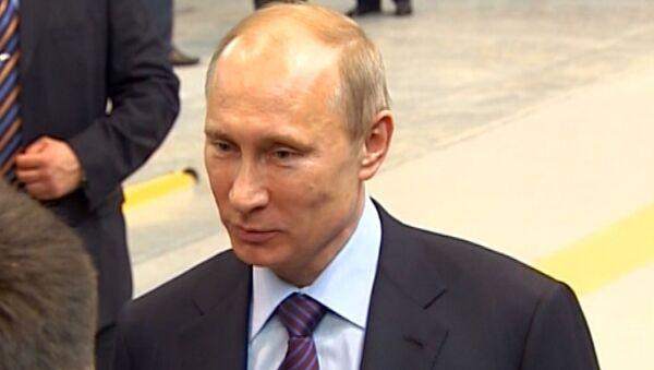 Путин повидался с тагильчанами, обещавшими помочь разогнать митинги