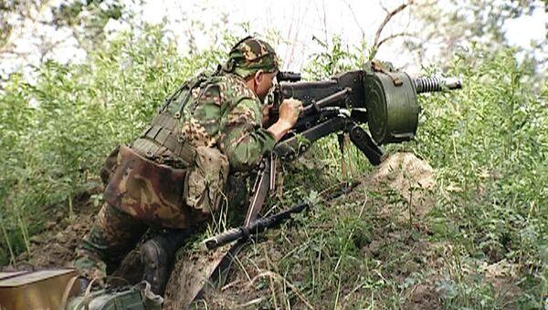 Спецоперация по уничтожению боевиков. Архивное фото