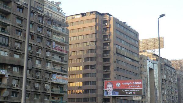 Агитация Мухаммеда Мурси, Каир. Архив