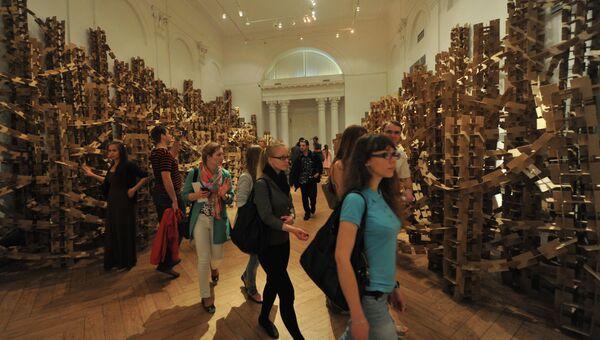 Акция Ночь в музее в Москве. Архивное фото