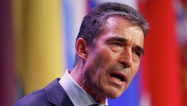 Фог Расмуссен на саммите НАТО в Чикаго