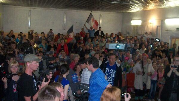 Жители Бураново собираются поболеть за землячек, выступающих на Евровидении в Баку
