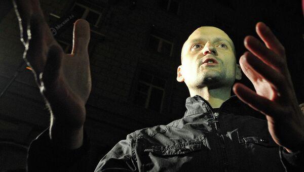 Выход Сергея Удальцова из спецприемника