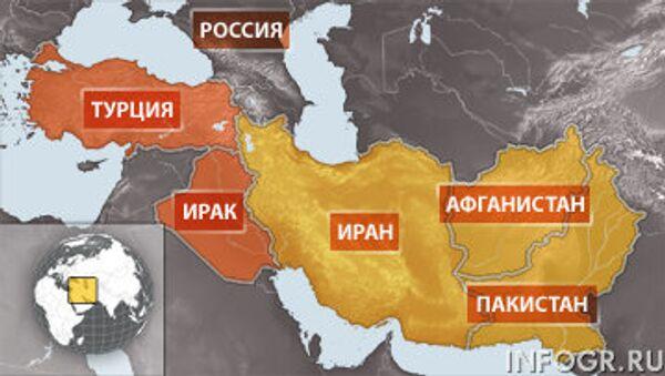 Байкеры, задержанные в Ираке, планировали финишировать в Пакистане