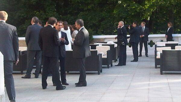 Неформальная встреча чиновников Кремля и министров в Барвихе
