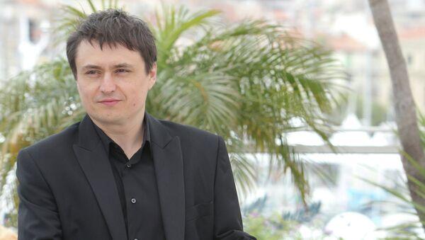 Режиссер Кристиан Мунгиу на 65-ом Каннском кинофестивале