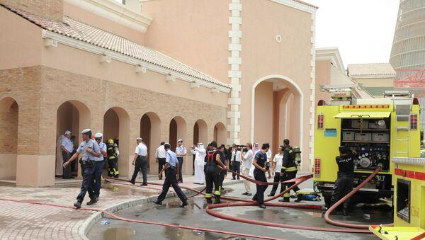 Пожар в торговом центре в Дохе, Катар