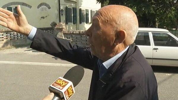 Я выскочил на улицу, не успев одеться - очевидец землетрясения в Италии
