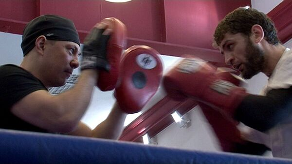Костя Цзю загонял боксера Аллахвердиева на тренировке перед июньским боем