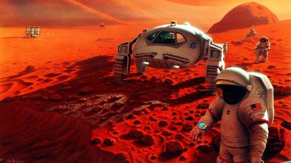 Концепция марсианской экспедиции