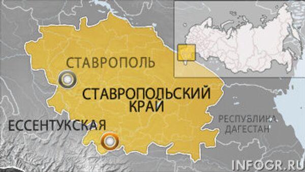 Карта Ставропольского края
