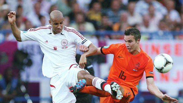 Футбол. ЕВРО - 2012. Матч сборных Нидерландов и Дании