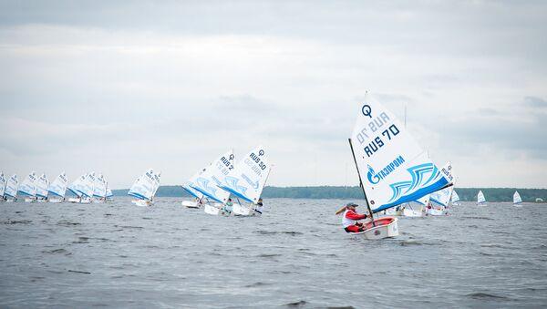 паруса соревнования гонки спорт яхты дети Петербург
