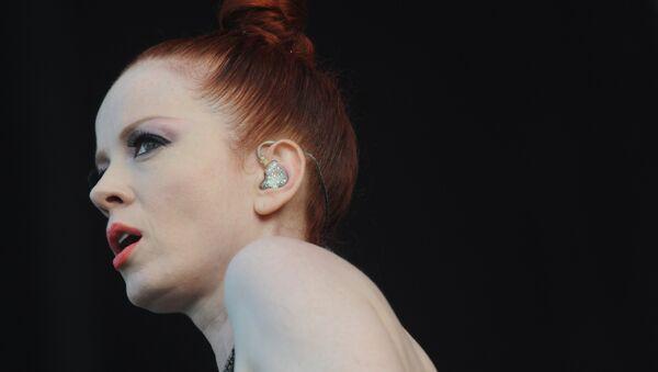 Вокалистка рок-группы Garbage Ширли Энн Мэнсон. Архивное фото