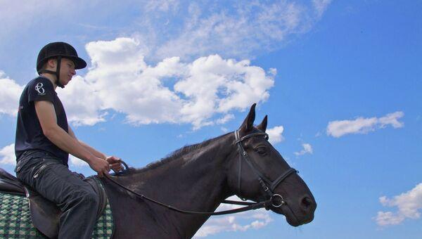 Конный спорт в Иркутске