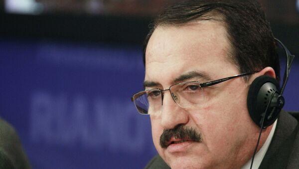 Посол Сирии в России Рияд Хаддад. Архивное фото