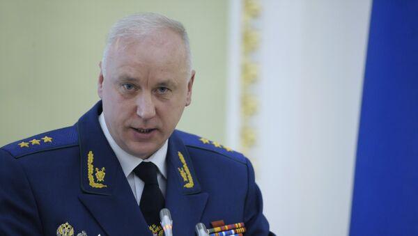 Председатель СК РФ А. Бастрыкин. Архивное фото