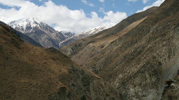 Горы в Ингушетии