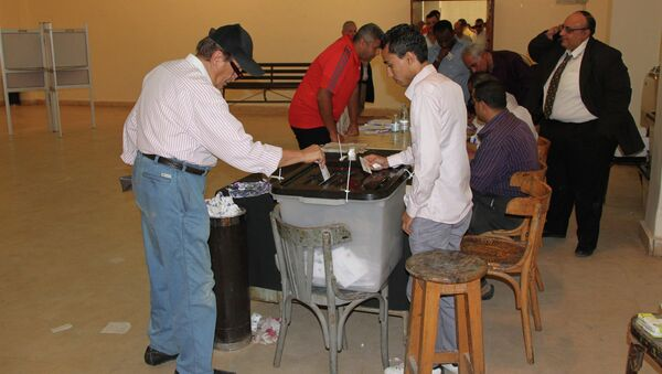 Голосование на выборах президента Египта