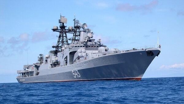 Противолодочный корабль Маршал Шапошников
