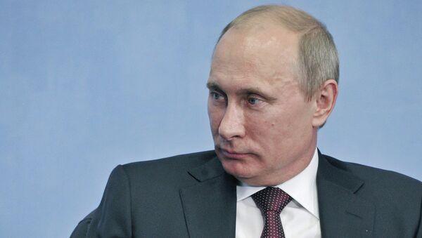 21 июня 2012. Президент России Владимир Путин