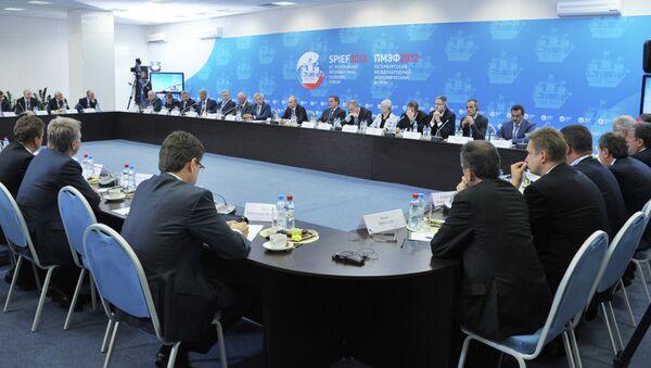 В.Путин на встрече с главами энергетических компаний