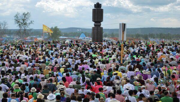 Национальный праздник Ысыах в Якутске