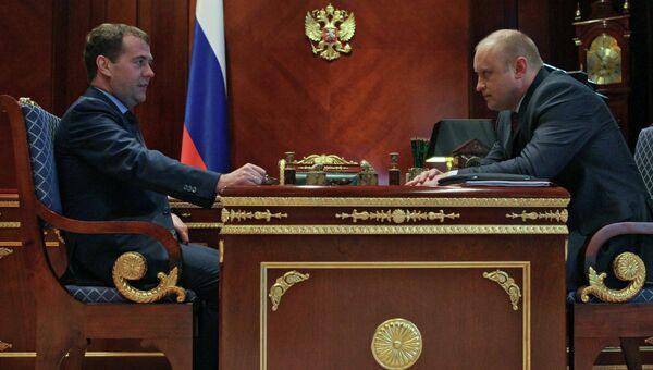 Д.Медведев назначил главой Росмолодежи С.Белоконева