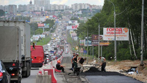 Калужское шоссе. Архивное фото