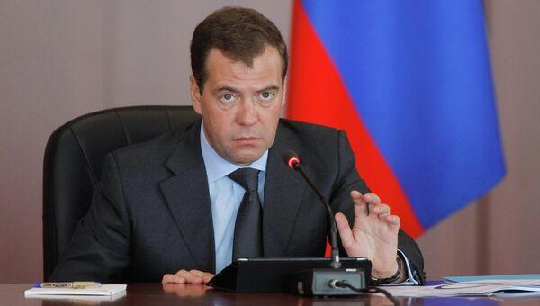 Рабочая поездка Д.Медведева в Дальневосточный федеральный округ. Архив