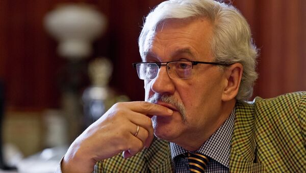 Ректор СибГМУ Вячеслав Новицкий,  архивное фото