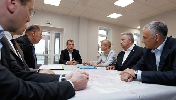 Рабочая поездка Д.Медведева. Архив