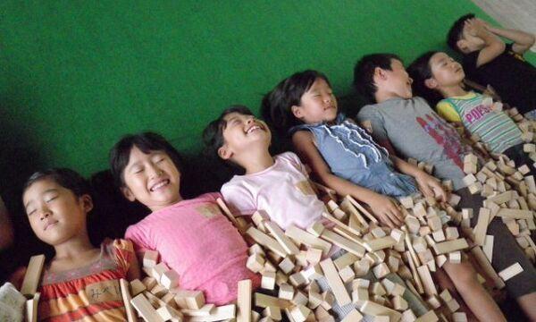 Японский детский лагерь
