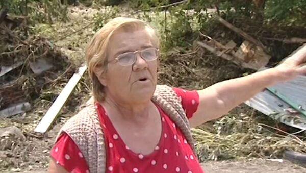 Жители Кубани показали, что осталось от их домов и садов