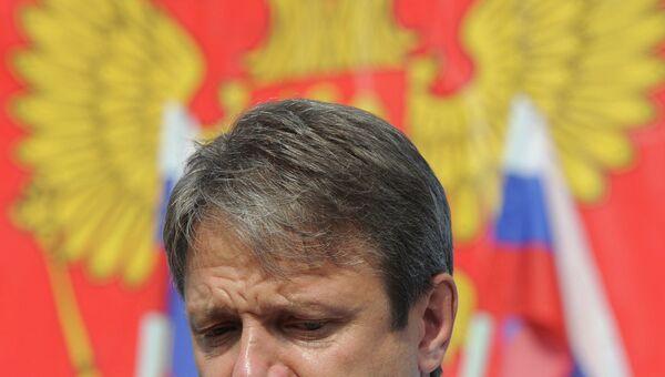 Губернатор Краснодарского края Александр Ткачев на встрече с жителями Крымска