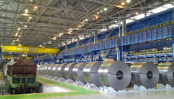 Магнитогорский металлургический комбинат. Архивное фото