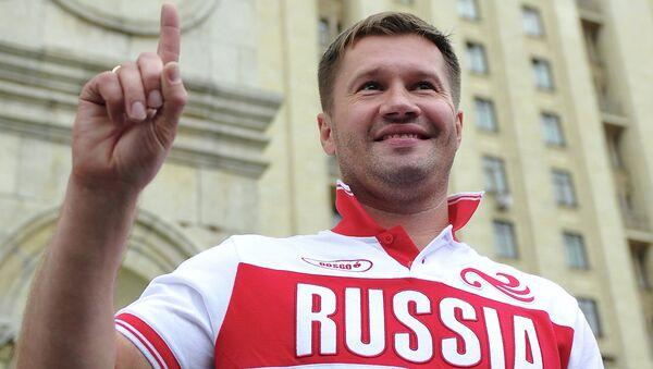 Презентация экипировки BOSCO для Олимпийской команды России. Архивное фото