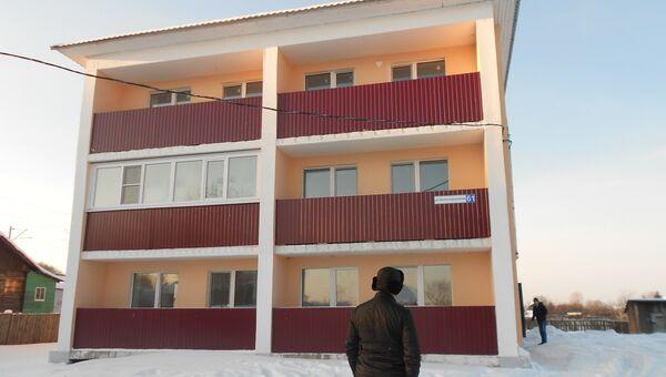 Дом для сирот в Костроме, фото с места события