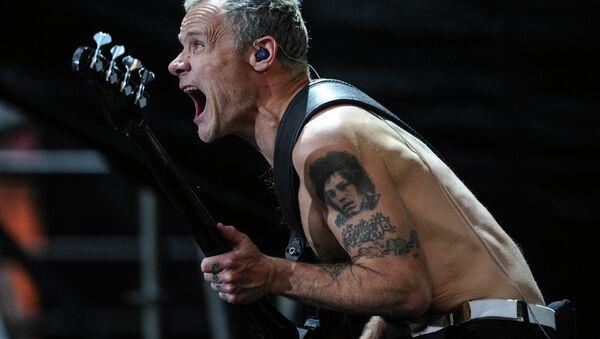 Концерт Red Hot Chili Peppers в Москве